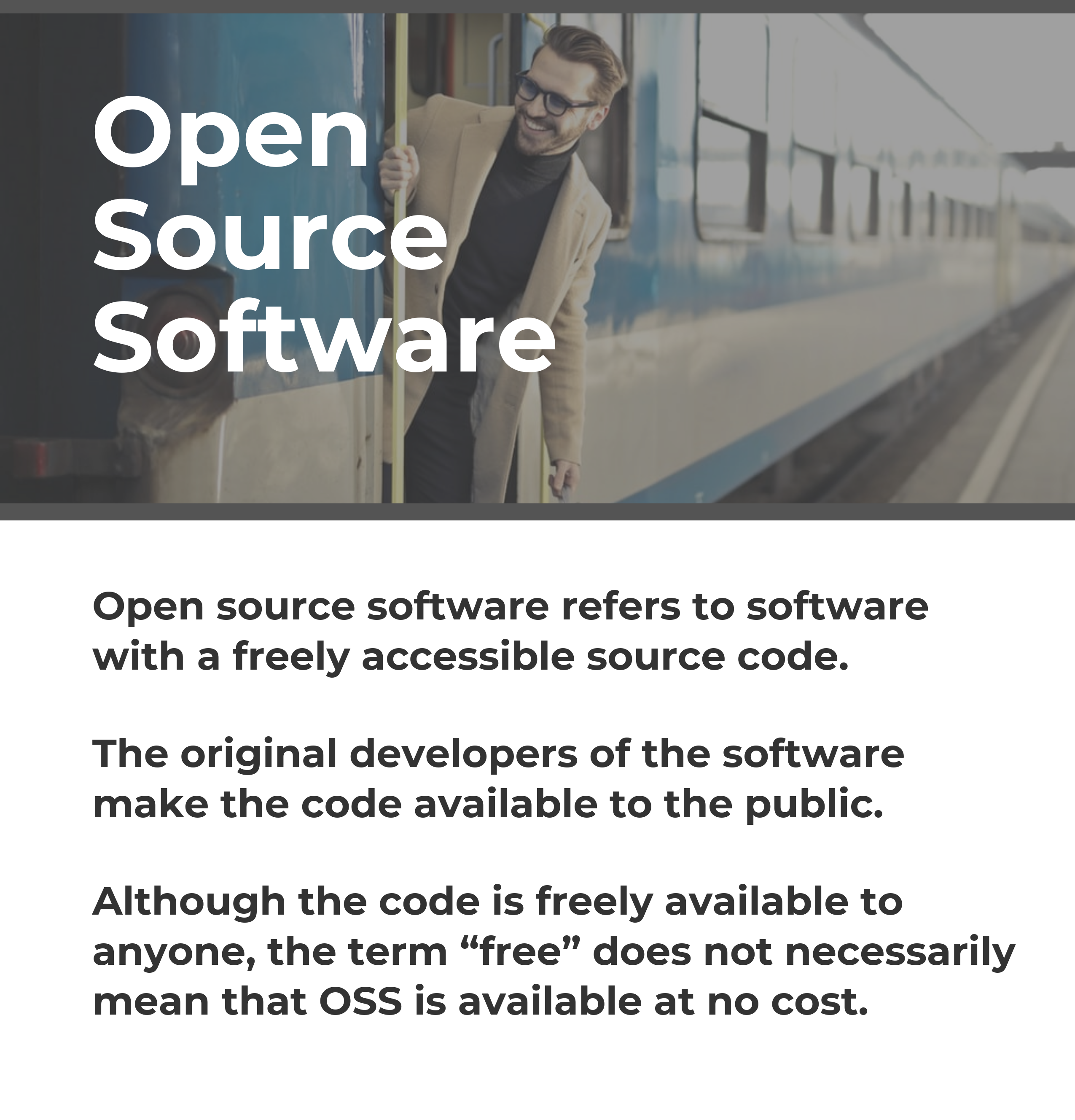 What are Open Source Software